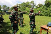 Prajurit Lanal Malang Memahirkan Menembak