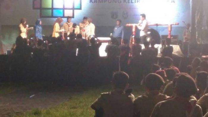 Malam Festival Wirakarya Kampung Kelir Pramuka