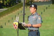 Danlanal Denpasar Pimpin Upacara Bendera 17-AN