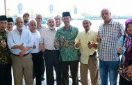 Keluarga Assegaf Palembang Terkesan Subuh Berjamaah Walikota