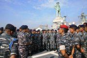Kapal Perang TNI AL Jajaran Koarmatim Ikuti Internasional Maritime Defence