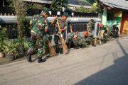 Usai Pengamanan Pilkada DKI, Hub Kostrad Laksanakan Karya Bhakti