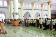 Peringatan Isra' Mi'raj Di Masjid Agung Baiturrahim Lhokseukon Khidmad