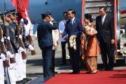 Presiden Jokowi Disambut Presiden Duterte di Istana Malacanang