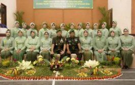 Persit KCK Koorcab Rem 011 PD Iskandar Muda Peringati HUT ke 71