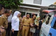 Wawako Palembang Monev Pelayanan Ambulan Gratis