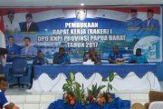 Pembukaan Rakerda I DPD KNPI PB di Raja Ampat Dihadiri Wagub Terpilih Papua Barat