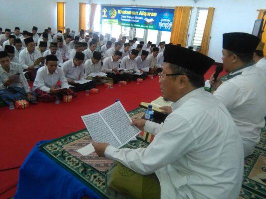 Hataman Al Quran di Lapas serentak se Indonesia
