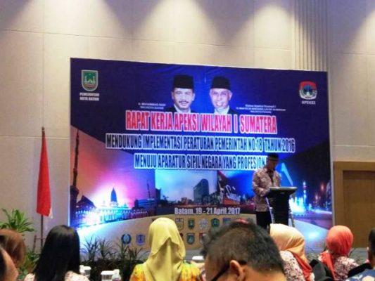 Anggota APEKSI ikut Komwil I Sumatera di Batam