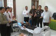 Kejaksaan Negeri Serdang Bedagai Donor Darah