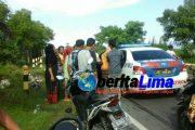 Korban Tabrak Lari, Pemotor di Sampang Dilarikan ke Puskesmas