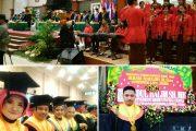 UWKS Wisuda 803 Mahasiswa, Gubernur LIRA Raih Wisudawan Terbaik