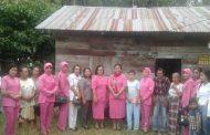 Bhayangkari Sergai, Kunjungi Penderita Penyakit Kanker