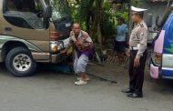 Dikmas Lantas Polres Pamekasan Lakukan Pengamanan, Liga I MU Vs Mitra Kukar