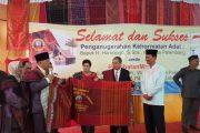 Harnojoyo Dinobatkan Jadi Warga Kehormatan Batak Sumatera Selatan