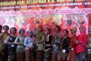 Peringati Hari Kartini,Lomba Rias Wajah Tanpa Kaca