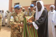Pasukan Garuda Darfur Meresmikan Masjid di Sudan