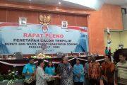 Rapat Pleno Terbuka JK-SUKA Pimpin Kab Sorong