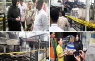 Lima Unit Rumah Terbakar, Pemko Beri Bantuan Masa Panik