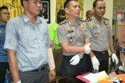 Dua Tersangka Distribusi Sabu Dibekuk Polres Aceh Utara