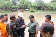 Pencarian Korban Terkendala Arus Deras Sungai