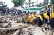 Kodim 0108/Agara Evakuasi Korban Banjir Bandang