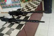 Masyarakat Halbar Kembali Serahkan 2 Unit HEAVY GUN Kepada Satgas YONIF 726/TAMALATEA