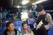 Personil Gabungan Cari Tahanan Kabur Di Ketapang