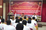 Rakernis Ditreskrimum Polda Maluku Utara
