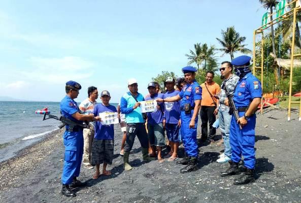 Satpolair Banyuwangi Cari Tahanan Kabur Polres Malang Melalui Laut