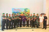 Dandim 0418/Palembang Silaturrahim Bersama Walikota Palembang