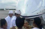 Setnov Beli Pesawat Jet Pribadi, Saat Ini Ada di Bandara Ngurah Rai