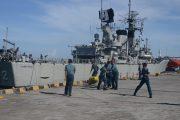 Operasi Kilat Badik,  KRI Slamet Riyadi -352 Singgah Pelabuhan Benoa Bali