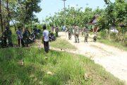 Tanpa Kenal Lelah, TNI Bersama Warga Desa Sindang Melaksanakan Pra TMMD