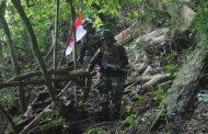 Kostrad Laksanakan Patroli  Patok di Perbatasan