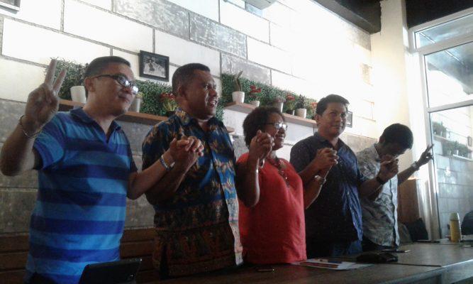 Solidaritas Papua Untuk Ahok, Aksi Bakar Lilin Sampai Ahok Bebas