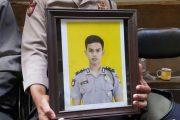 Jenazah Bripda Imam Gilang Korban Bom Kampung Melayu Dibawa ke Klaten