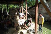Diakhir Penugasan Pamtas RI-PNG, Satgas Yonif Mekanis 516/CY Bantu Warga Bangun Mushalla