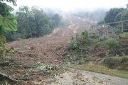 Desa Maliwowo, Angkona Terjadi Bencana Longsor