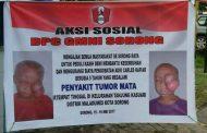 GMNI Sorong, Mendonasi 20 Juta Rupiah, Untuk Charles S Kafiar Boca Penderita Tumor Mata