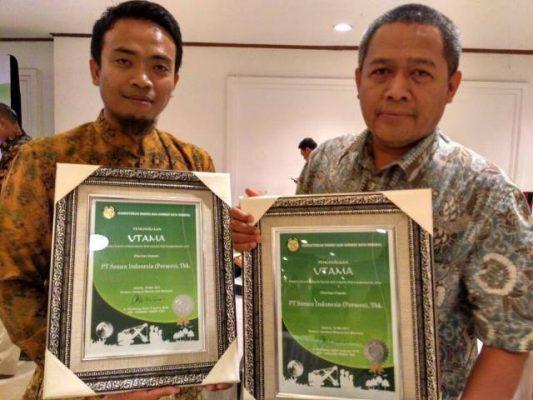 Sukses Kelola Lingkungan, Semen Indonesia Terima Penghargaan Utama