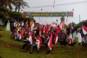 Komunitas Ojek Trikora Pawai Merah Putih