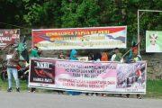 HMI Fakfak Unjuk Rasa,  Refrendum NO, NKRI YES, Hidup Indonesia