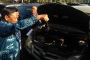 Bupati Gresik , Mendadak Periksa Mobil Dinas OPD