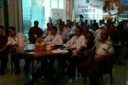 Kasudin Pendidikan Jakut Teleconverence Dengan Kadisdik DKI