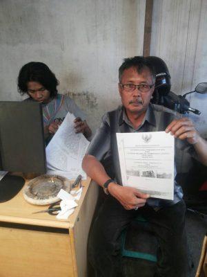 GNPK Malang Laporkan Soal Ruislah Tanah Desa Dadaprejo ke KPK