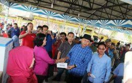 Gelar Family Gathering Wartawan Sergai di Theme Park Berjalan Sukses dan Meriah