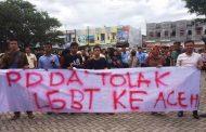 LGBT jangan pernah coba coba masuk ke Aceh