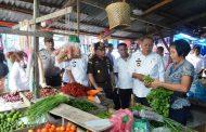 Jelang Ramadhan Bupati dan Kajari Sergai Survey Harga Sembako di Pasar Tradisional