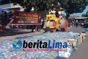 Polres Situbondo Musnakan Ratusan Ribu Butir Pil KOPLO Dan Miras
